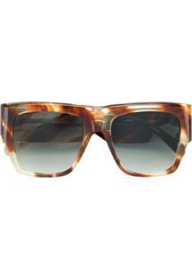 0d8f972dce226 Óculos De Sol Listras Marrom feminino   Shoelover