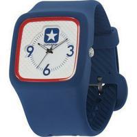 c903e386141 Relógio De Pulso Converse Clocked Ii - Masculino-Marinho