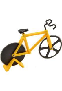 Cortador De Pizza Bicicleta Amarelo