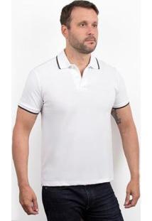 Camisa Polo 4You Adulta Masculina - Masculino-Branco