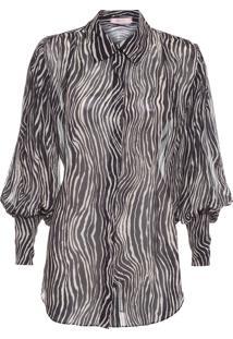 Camisa Feminina Tessa - Animal Print