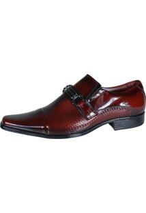 Sapato Social Confortável 0651 Gofer Vinho