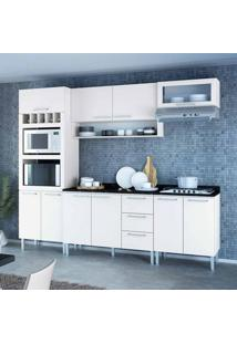 Cozinha Compacta Stella 10 Pt 3 Gv Branca