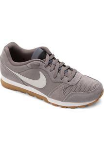Tênis Nike Md Runner 2 Suede Masculino - Masculino-Cinza