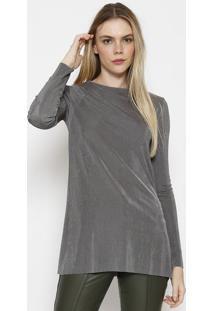 Blusa Texturizada - Cinza Escurocalvin Klein