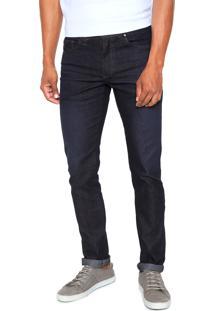 Calça Jeans Aleatory Reta Lisa Azul