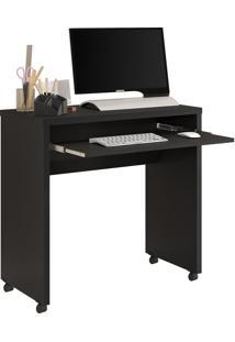 Escrivaninha Jb 6066 Luxo Preto Fosco