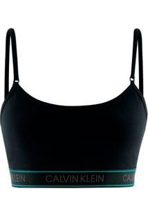 Top Alças Cotton Calvin Klein