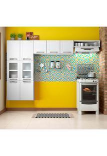 Cozinha Compacta Múltipla 9 Pt Branca