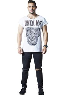 Camiseta Wolke Básica Branca