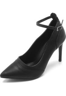 Scarpin Dafiti Shoes Liso Preto