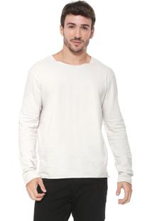 Camiseta Reserva Ml Crepe Off-White