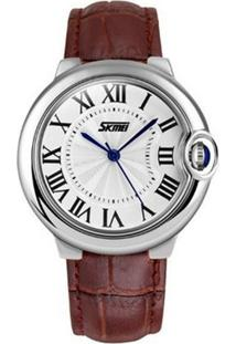 Relógio Skmei Analógico 9088 Marrom
