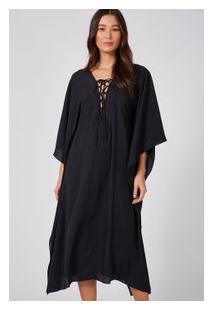 Vestido Quadrado Preto