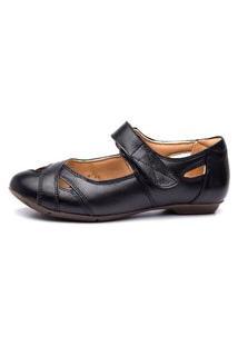 Sapatilha Feminina Doctor Shoes 1298 Preta