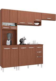 Cozinha Modulada 02 Peças Isadora Capuccino - Poquema