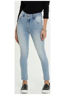 Calça Feminina Cigarrete Stretch Zune Jeans