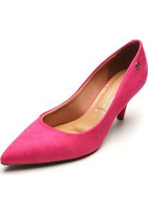 Scarpin Vizzano Suede Pink