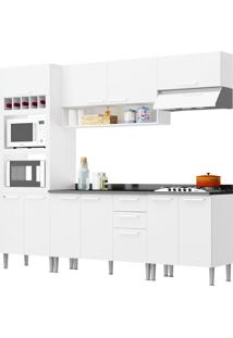 Cozinha Isadora Branco Genialflex Móveis