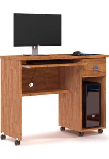 Mesa Para Computador Vicenza Amêndoa Amêndoa