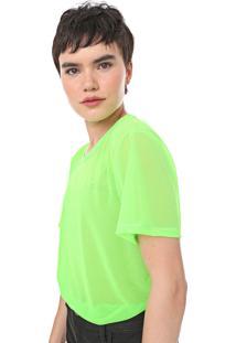 Camiseta Coca-Cola Jeans Neon Verde