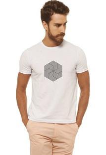 Camiseta Joss - Flor Doida - Masculina - Masculino-Branco