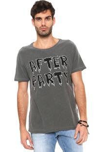Camiseta John John After Grafite