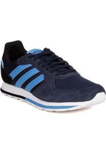 Tênis Esportivo Masculino Adidas Azul Marinho/Azul
