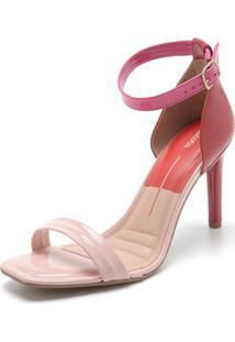 Sandália Dakota Color Rosa/Vinho