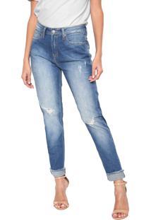 ... Calça Jeans Calvin Klein Jeans Reta Azul 38ecfcd26f7