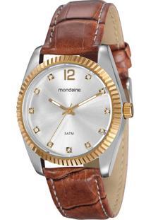 7bbad8e98c4 Eclock. Relógio Feminino Seculus Mondaine Cori Clock Clássico Analógico ...