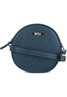 Bolsa Santa Lolla Mini Bag Redonda Feminina - Feminino-Verde