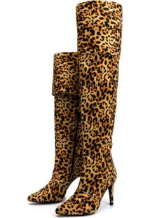 Bota Over Numeracao Especial Toretto Animal Print.
