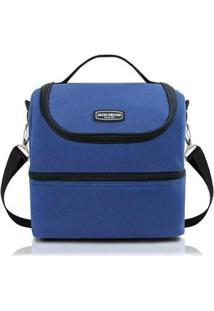 Bolsa Térmica Lisa Urbano Jacki Design - Unissex-Azul