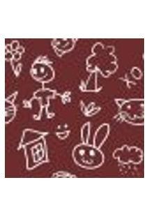 Papel De Parede Autocolante Rolo 0,58 X 3M - Infantil 1260