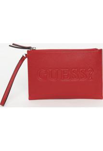 Clutch ''Guess?®''- Bordã´- 15X23X2Cm- Guessguess