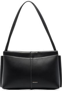 Wandler Carly Leather Shoulder Bag - Preto
