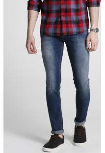 Calça Jeans Lavagem