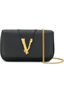 Versace Virtus Evening Bag - Preto