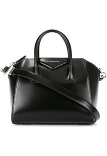 Givenchy Bolsa Tote De Couro Modelo 'Antigona' Pequena - Preto