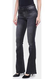 Calça Jeans Flare Biotipo Estonada Feminina - Feminino
