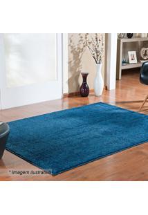 Tapete Classic- Azul Escuro- 100X50Cm- Oasisoasis