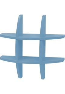 Prateleira Decorativa Pequena Taylor 600 Azul Serenata - Maxima