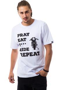 Camiseta The Skull Pray - Masculino