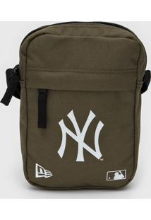 Bolsa New Era Shoulder Bag New York Yankees Verde - Verde - Dafiti