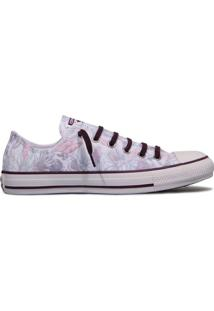 Tênis All Star Converse Ct As Ox Floral/Vinho