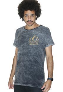 Camiseta Outstanding Estonada All Vibes Chumbo