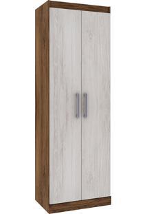 Armário Multiuso 28D020 - Rodial - Cacau / Blanc