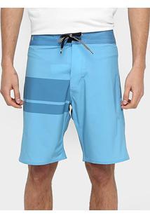 Bermuda Volcom Quarta Solid - Masculino-Azul Claro