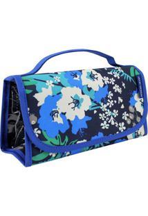 Nécessaire Rocambole Com Recortes- Azul & Preta- 12Xjacki Design